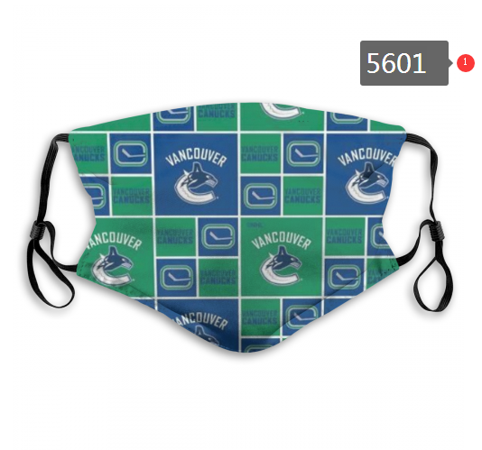 2020 NHL Vancouver Canucks Dust mask with filter