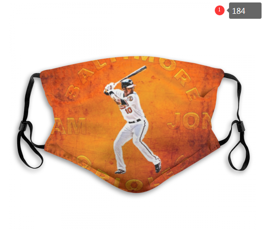 MLB Baltimore Orioles 1 Dust mask with filter