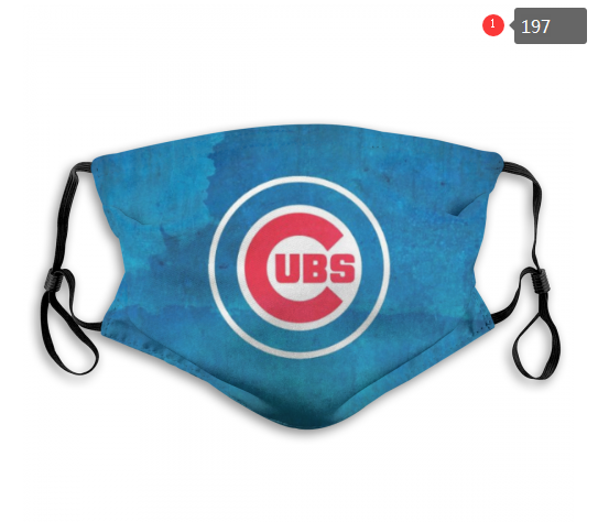 MLB Chicago Cubs 1 Dust mask with filter