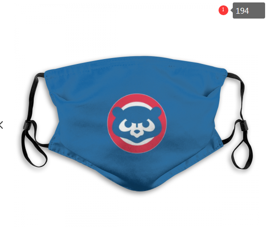 MLB Chicago Cubs 4 Dust mask with filter