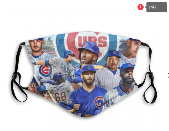 MLB Chicago Cubs 5 Dust mask with filter