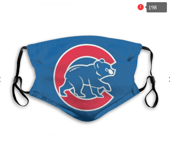 MLB Chicago Cubs Dust mask with filter