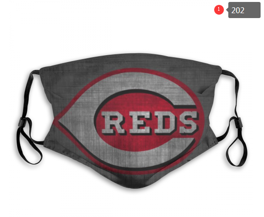 MLB Cincinnati Reds 3 Dust mask with filter