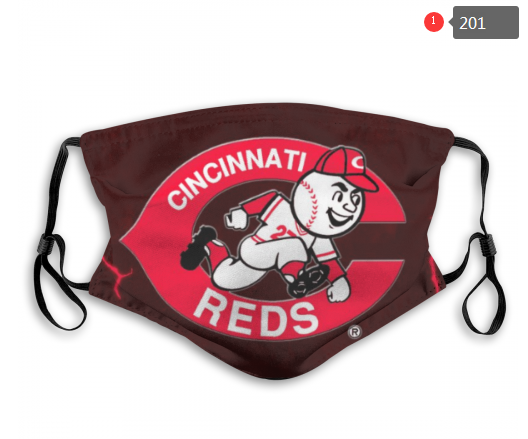 MLB Cincinnati Reds 4 Dust mask with filter