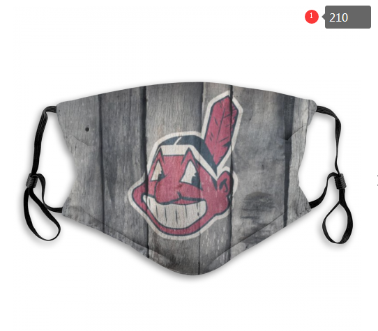 MLB Cleveland Indians 1 Dust mask with filter