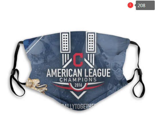 MLB Cleveland Indians 3 Dust mask with filter