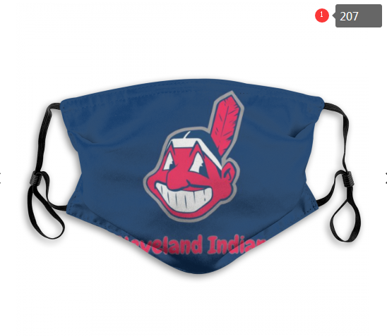 MLB Cleveland Indians 4 Dust mask with filter