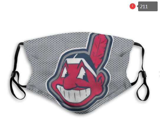 MLB Cleveland Indians Dust mask with filter