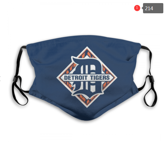 MLB Detroit Tigers 3 Dust mask with filter