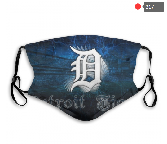 MLB Detroit Tigers Dust mask with filter