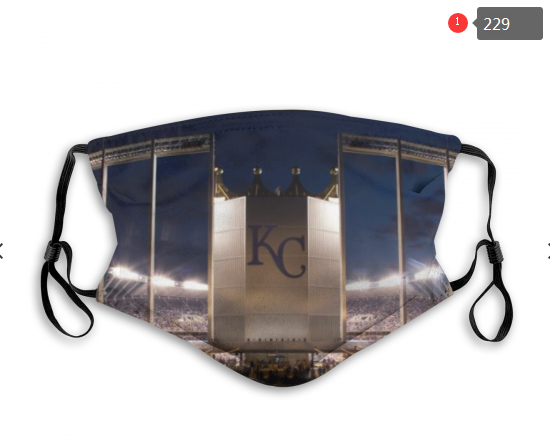 MLB Kansas City Royals 1 Dust mask with filter