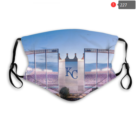 MLB Kansas City Royals 3 Dust mask with filter