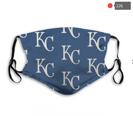 MLB Kansas City Royals 4 Dust mask with filter