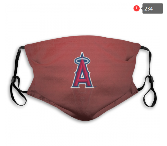 MLB Los Angeles Angels 2 Dust mask with filter