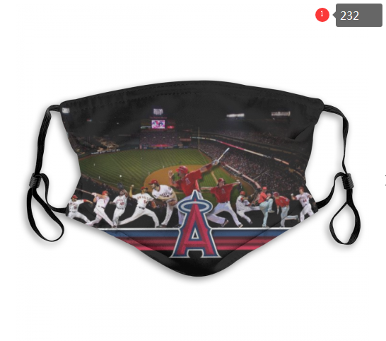 MLB Los Angeles Angels 4 Dust mask with filter