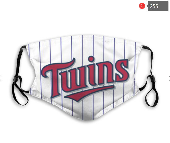 MLB Minnesota Twins 1 Dust mask with filter
