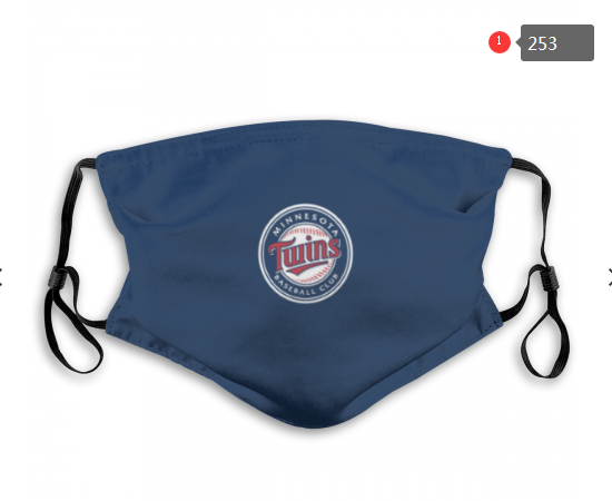 MLB Minnesota Twins 3 Dust mask with filter