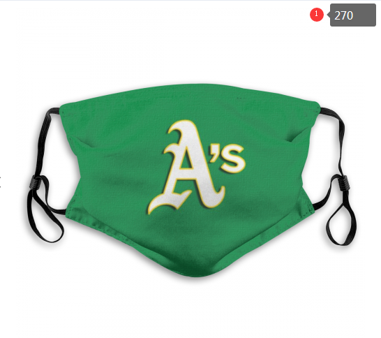 MLB Oakland Athletics 1 Dust mask with filter