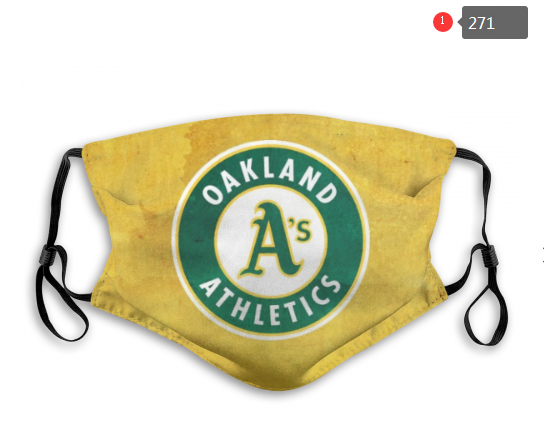 MLB Oakland Athletics Dust mask with filter