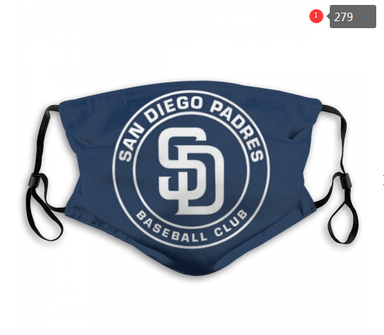 MLB San Diego Padres Dust mask with filter