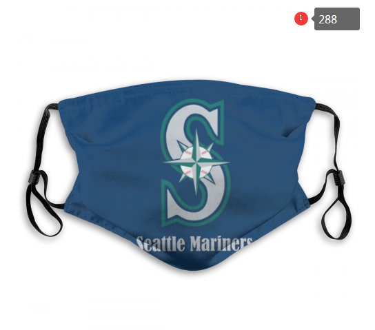 MLB Seattle Mariners 1 Dust mask with filter