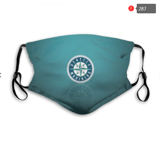 MLB Seattle Mariners 2 Dust mask with filter