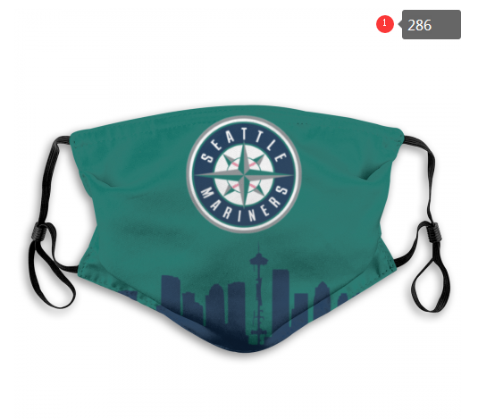 MLB Seattle Mariners 3 Dust mask with filter