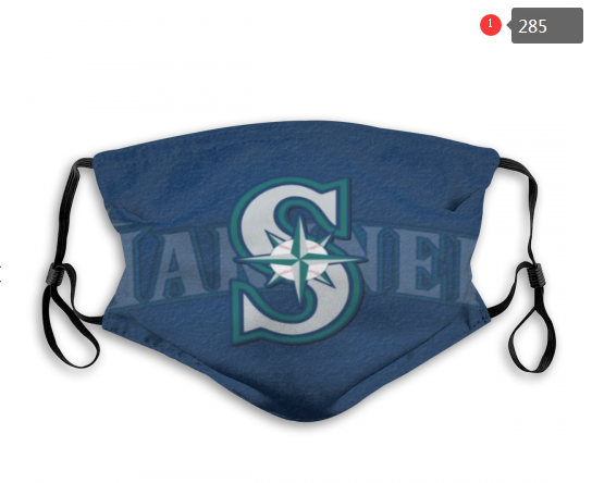 MLB Seattle Mariners 4 Dust mask with filter