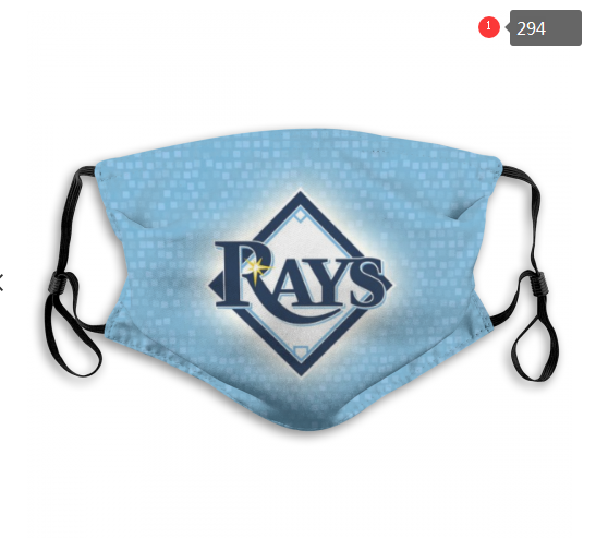 MLB Tampa Bay Rays 1 Dust mask with filter