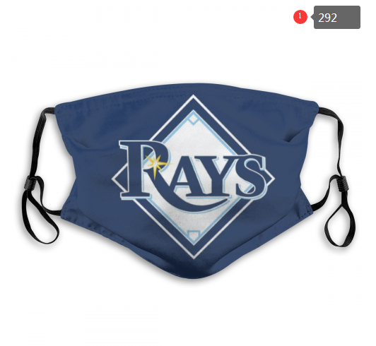 MLB Tampa Bay Rays 3 Dust mask with filter