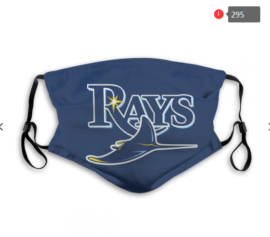 MLB Tampa Bay Rays Dust mask with filter