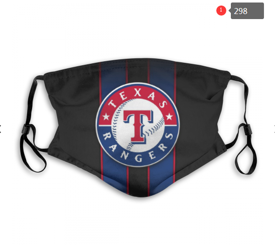 MLB Texas Rangers 1 Dust mask with filter