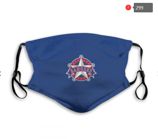 MLB Texas Rangers Dust mask with filter