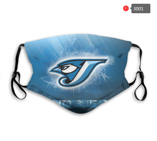 MLB Toronto Blue Jays 1 Dust mask with filter
