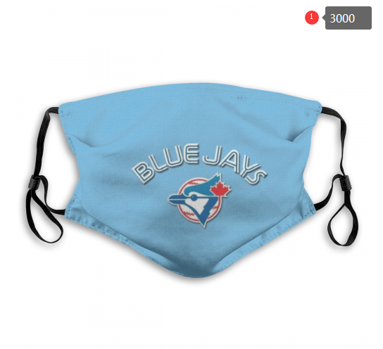 MLB Toronto Blue Jays 2 Dust mask with filter