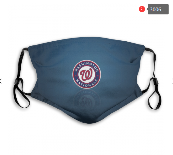 MLB Washington Nationals 1 Dust mask with filter