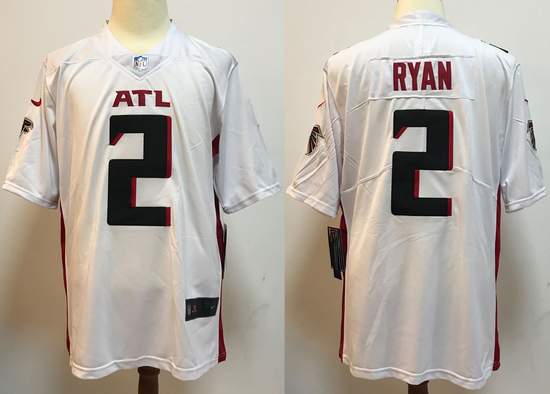 Men Atlanta Falcons 2 Ryan White New Nike Limited Vapor Untouchable NFL Jerseys