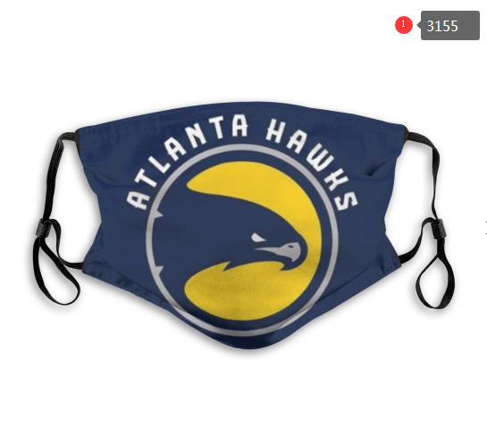 NBA Atlanta Hawks 3 Dust mask with filter