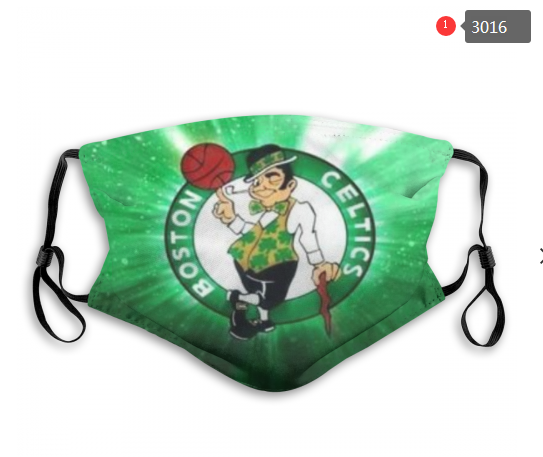 NBA Boston Celtics 1 Dust mask with filter