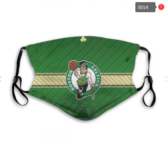 NBA Boston Celtics 3 Dust mask with filter