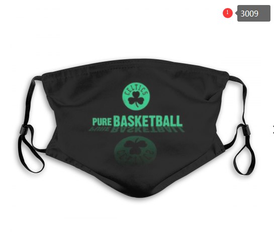 NBA Boston Celtics 7 Dust mask with filter