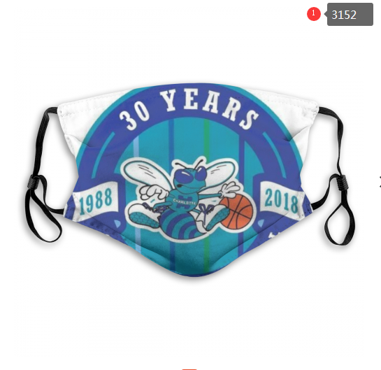 NBA Charlotte Hornets Dust mask with filter
