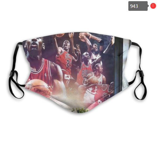NBA Chicago Bulls 14 Dust mask with filter