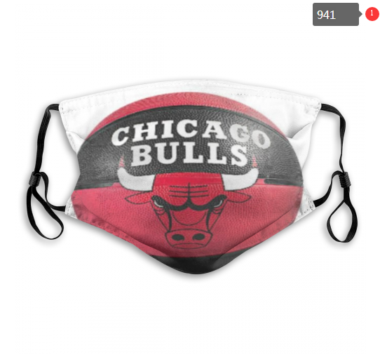 NBA Chicago Bulls 16 Dust mask with filter