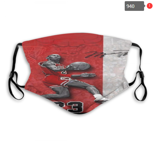NBA Chicago Bulls 17 Dust mask with filter