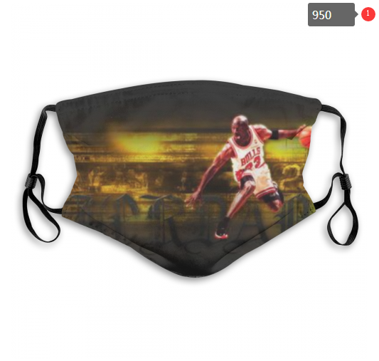 NBA Chicago Bulls 7 Dust mask with filter