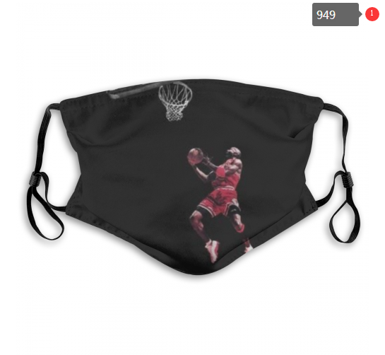 NBA Chicago Bulls 8 Dust mask with filter