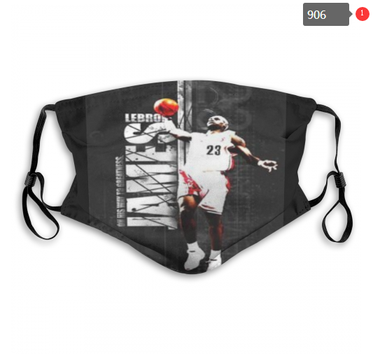NBA Cleveland Cavaliers 12 Dust mask with filter