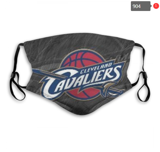 NBA Cleveland Cavaliers 14 Dust mask with filter