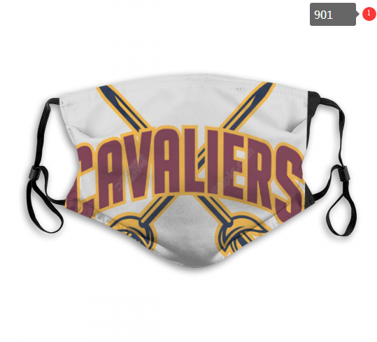 NBA Cleveland Cavaliers 17 Dust mask with filter
